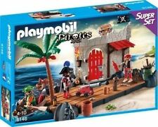 PLAYMOBIL 6146 Superset Piratenfestung Neu/ovp
