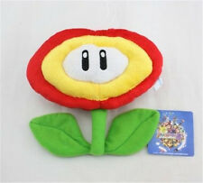"Super Mario Bros. Fire Flower Plant Decoration Plush Toy 7"" Doll Collectible US"