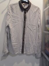 Ladies BNWOT Marks and Spencer Limited Edition Shirt Top Size 8 (O)