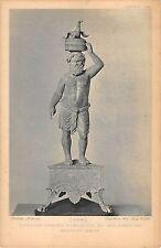 BF5624 art greco roman statuette of seilenos on ancient basse