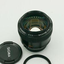 Minolta MC Rokkor 58mm F1.2 Fast Prime Lens (Adaptable to Sony, Nikon, Canon)