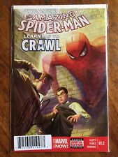 AMAZING SPIDER-MAN LEARNING TO CRAWL #1.2 1ST PRINT ALEX ROSS SIGNED W/COA