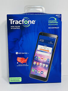 LG Journey TFLGL322DCP 16GB Gray/Black Tracfone Smartphone New Sealed