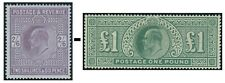Edward VII Sg 260-Sg 266 Average Used Condition Single Stamps