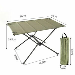 Portable Outdoor Folding Table Ultralight Camping Furniture Multifunctional Desk