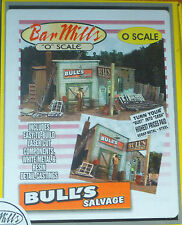 Bar Mills #454 (O Scale) Bull's Salvage (Kit) w/Signs (Laser-cut)