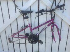 Girls Bicycle Diamondback Outlook Purple Mountain Bike Frame Forks Shifters +