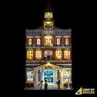 LIGHT MY BRICKS - LED Light Kit for LEGO Town Hall set 10224 Lego LED Kit