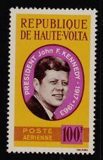 BURKINA FASO   SCOTT# C19 MNH UNITED STATES PRESIDENT JOHN F. KENNEDY