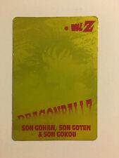 Dragon Ball Z PP Card Gold 1178