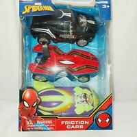 Marvel's Spiderman Friction Cars Set of 3 - NEW SEALED
