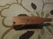 "Wood Lynch""S Fool Proof Turkey Call Model No 101 Thomasville Ga Usa 1965"