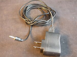 120 VAC to 5 VDC ADAPTER USB to 3.5MM Power Jack w/ 6 ft cord TESTED AND WORKING