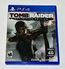 Replacement Case (NO GAME) Tomb Raider Definitive Edition Playstation 4 PS4 Box