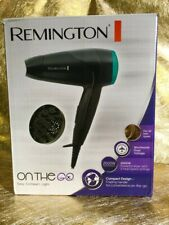 Remington D1500 2000W Compact Travel Hair Dryer with Diffuser & Folding Handle