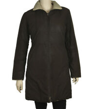 Moncler Brown & Tan Polyester Winter Coat, Size XS