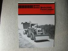Case 65q Farm Loader Brochure For David Brown 1210 1410 Tractors