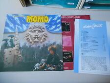 LP OST Angelo Branduardi-Michael fine: MOMO (12) canzone Ariola/OIS presskit