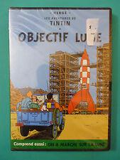 **NEW** Les Aventures de Tintin: Objectif Lune / On A Marche sur la Lune (DVD)