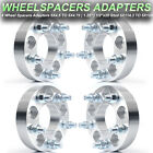 "(4) 1.25"" 5x4.5 to 5x4.75 Wheel Adapters 1/2''x20 Studs Thick 5X114.3 to 5X120"