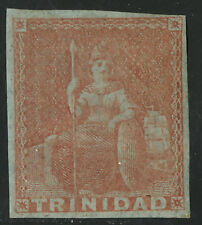 Trinidad   1851-56   Scott #  1a  Mint Hinged