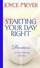 Joyce Meyer Daily Devotional Starting Your Day Right Morning Christian Womens