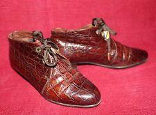 80er 80s Vintage K&S STUDIO Leder Ankle Boots 36 Stiefeletten Lace Up Brogues