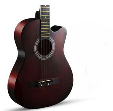 Brown New High-Grade 38 inch Basswood Musical Instruments Acoustic Guitar #