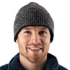 EDZ Tarn Merino Wool Beanie Hat Grey