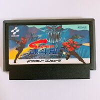 Super Contra Nintendo Famicom FC NES Japan game Tested Working