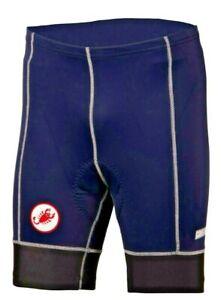 "Castelli ""Old School"" Men's YPro Cycling Shorts Size Small,Navy Blue"