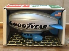 Vintage Buddy L Brute GoodYear Blimp Blue & Silver Made In Japan New Boxed