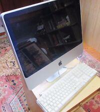 """Apple iMac da 7.1 20"""" 2007 2.0GHz Intel 4GB 667 MHZ-usato ma in buone Nick"""