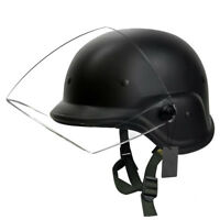 Tactical Military Airsoft PASGT Swat Helmet with Clear Visor Head Protector