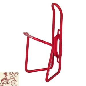 MINOURA  AB100-5.5 DURA-CAGE ALLOY RED BICYCLE WATER BOTTLE CAGE