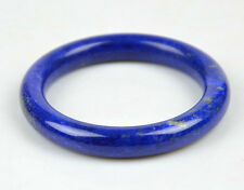 59mm Natural Lapis Lazuli Gemstone Round Bangle Bracelet