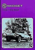 1976 Mg Midget (Mk.3) Official Driver'S Handbook Mkiii