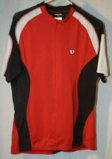 Pearl Izumi XL black red & white short sleeve bicyclist shirt