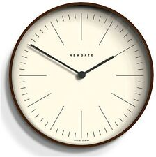 RETRO VINTAGE 1960s Simple Shabby Chic Newgate Black Kitchen Modern Wall Clock