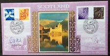 Benham 8.6.1999  Scotland Pictorial FDC signed Sir DAVID STEEL, politician LD