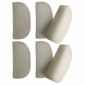 6 x Compatible Polishing Filter Pads Suitable For Fluval 104 105 106 204 205 206