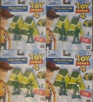 DISNEY PIXAR Toy Story 4 Green Army Parachute Men Birthday Party Favor 8 pack