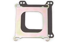 "Edelbrock 2732 Carb Adapter Plate Square Bore to Spread Bore .100"" Thick"