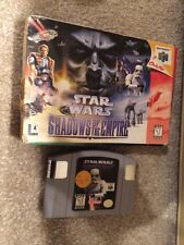 Star Wars:Shadows Of The Empire ( Nintendo 64) Used