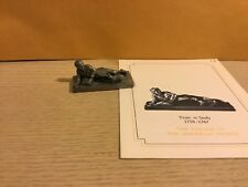 Saturday Evening Post Franklin Mint Pewter Figurine Trying' To Study