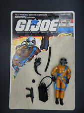 1989 GI Joe FRAG VIPER Cobra action figure Hasbro filecard complete grenades