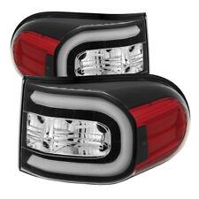 Toyota 07-14 FJ Cruiser Black LED Neon Tube Style Rear Tail Brake Lights Set