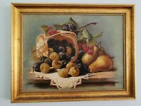 Original Oil Painting. Framed, Still Life.
