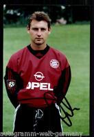 super AK Foto Bernd Dreher Bayern München 03-04(2) Orig. Signiert