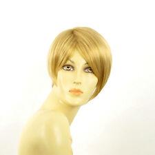 Perruque femme courte blond clair doré ALEXANDRA LG26